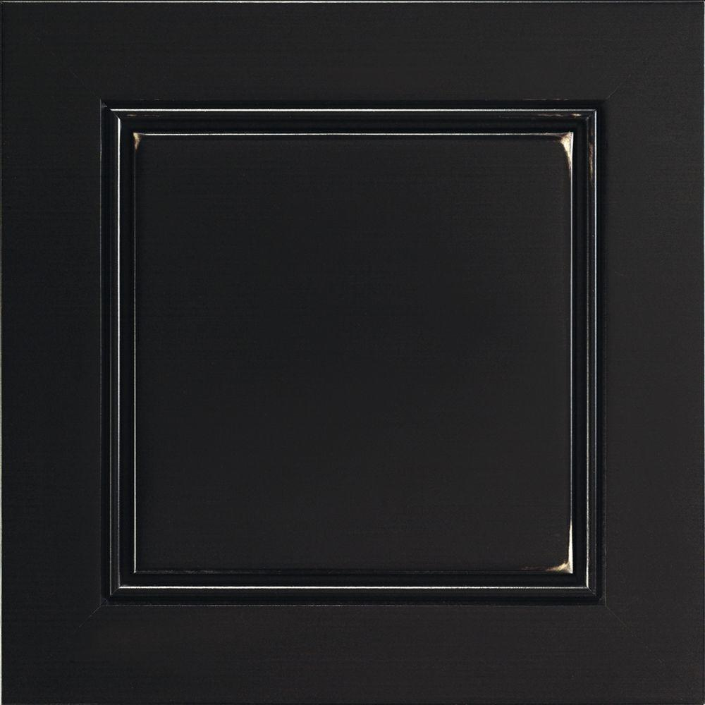 Belgrade Cabinet Door Sample In Heirloom Black