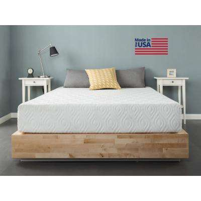 Liberty 10 in. Queen Gel Memory Foam Mattress