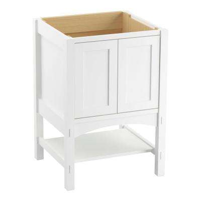Marabou 24 in. Vanity Cabinet Only in Linen White