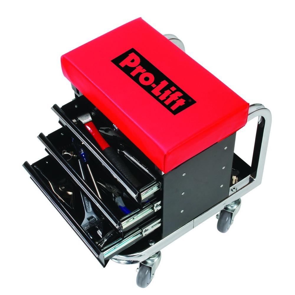 Pro-Lift Tool Box Creeper Seat