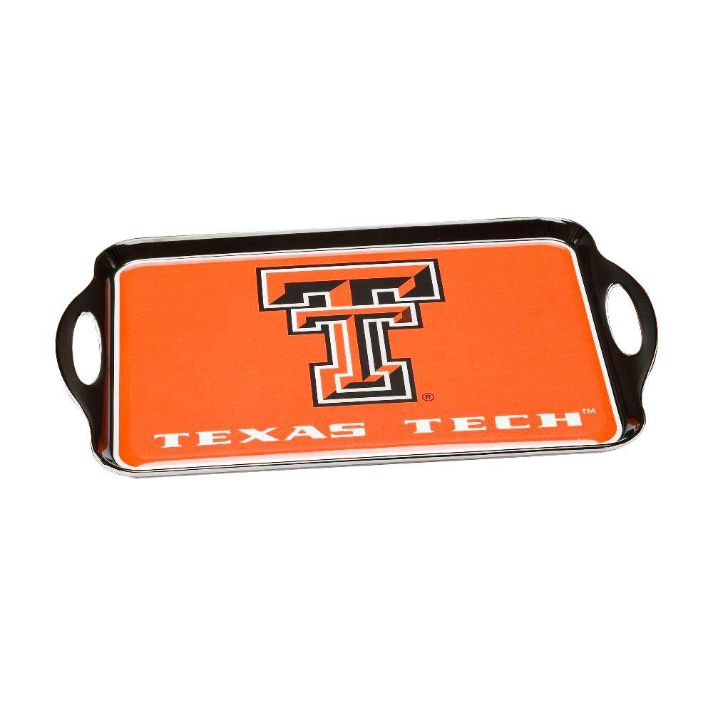 BSI Products NCAA Texas Tech Red Raiders Melamine Serving Tray