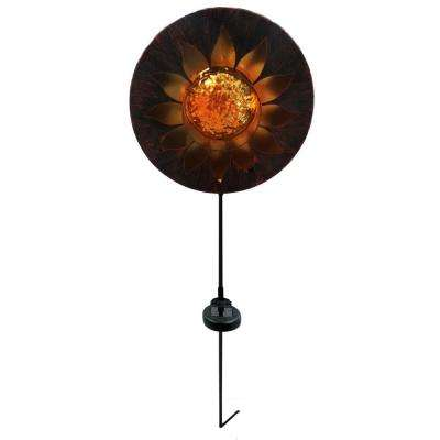 Solar Sun Garden Stake with LED Lights -TM