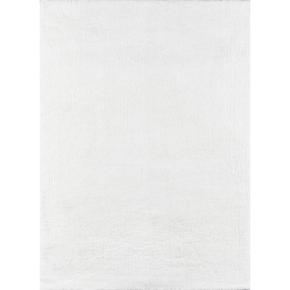 Velvet Shag White 7 ft. 6 in. x 9 ft. 6 in. Indoor Area Rug