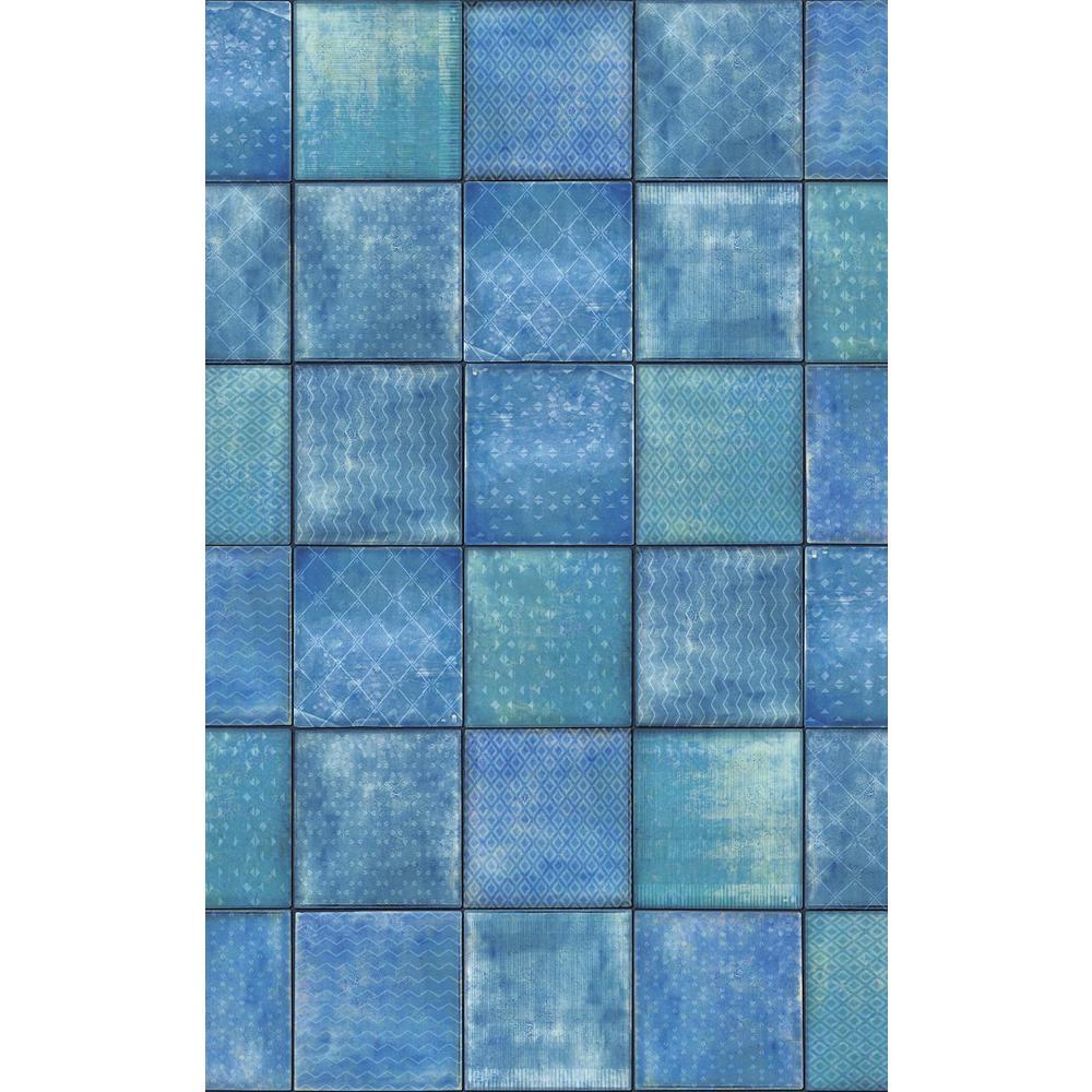 Blue Svanek Wall Adhesive Film (Set of 2)