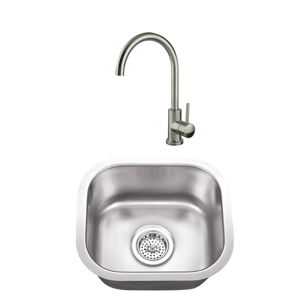 Cahaba Undermount Stainless Steel 14 1
