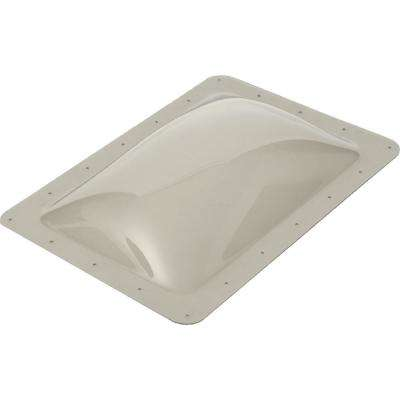 Standard RV 17-1/2 in. x 33-1/2 in. x 4 in. Skylight