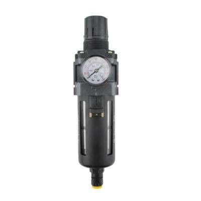 1/4 in. NPT Polycarbonate FRL Air Filter Regulator