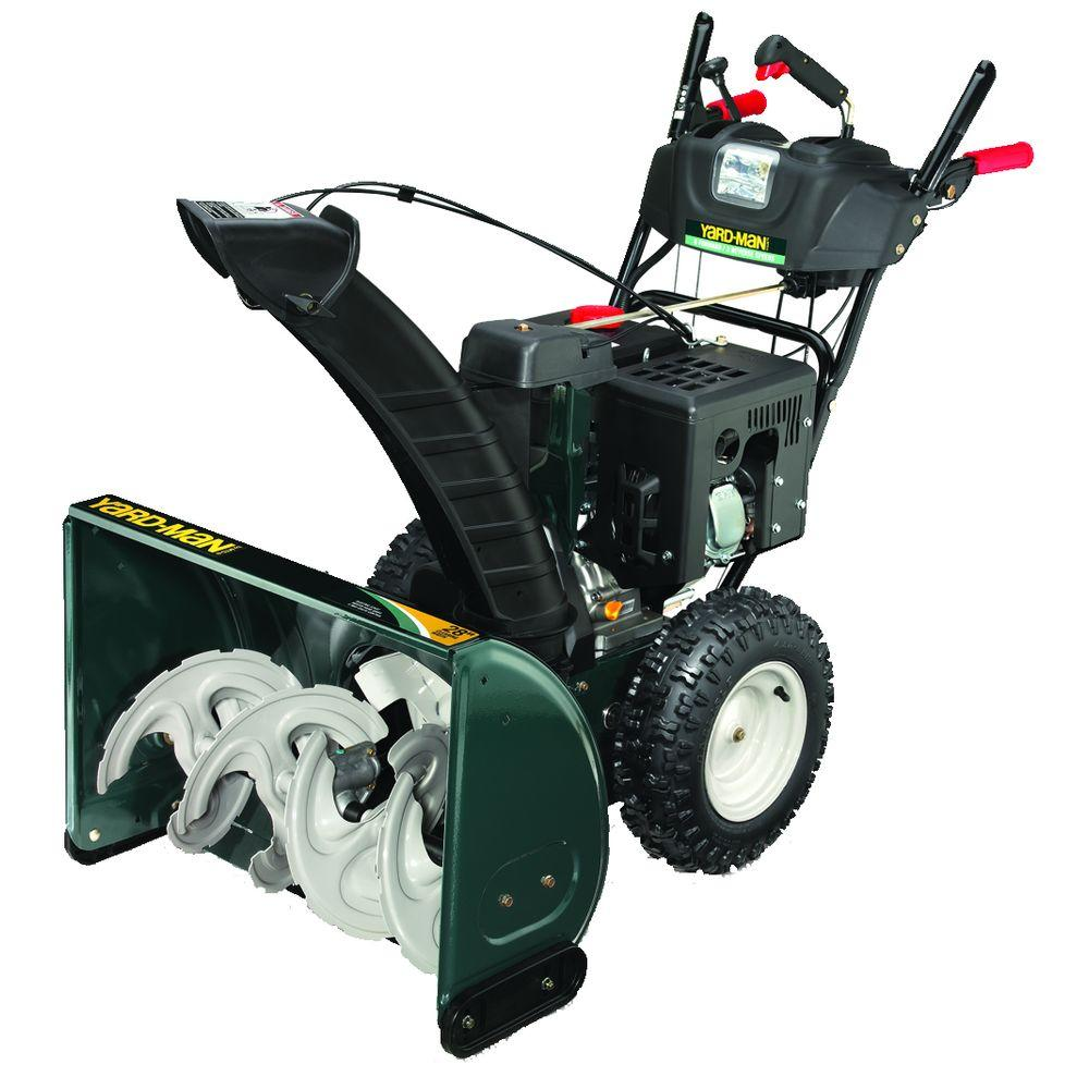Yard-Man 28 in. 2-Stage Electric Start Gas Snow Blower-DISCONTINUED