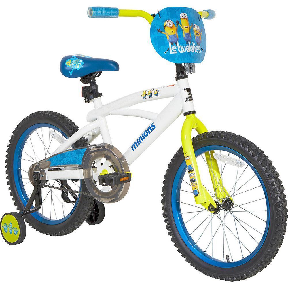 18 in. Kids Despicable Me Minions Bike