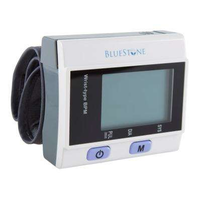 3.25 in. x 3.5 in. Automatic Wrist Blood Pressure Monitor