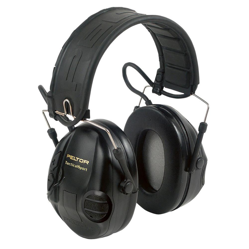 Peltor Sport Tactical Black Earmuffs (Case of 10)