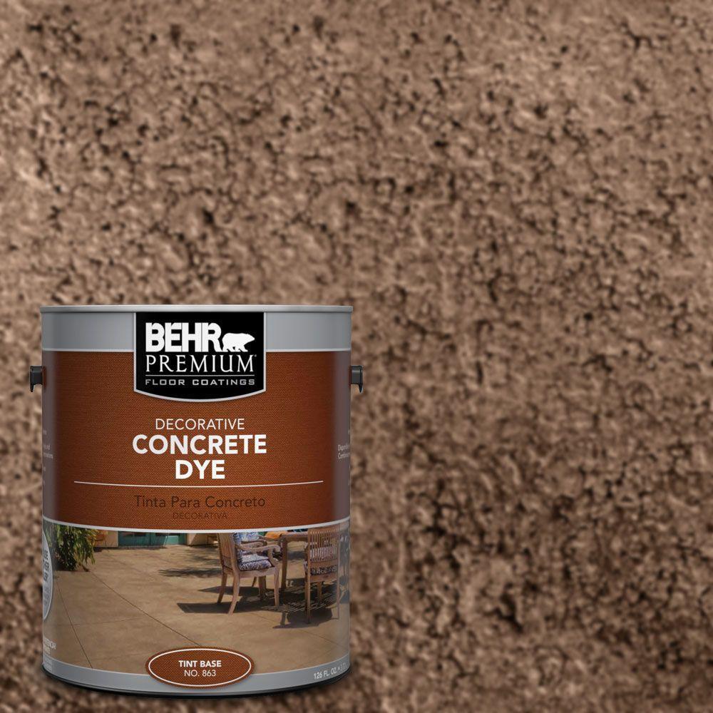 1 gal. #CD-833 Cinnamon Stone Concrete Dye