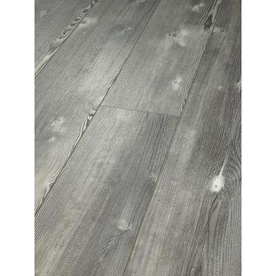 Pinebrooke Click 9 in. x 59 in. Stone Resilient Vinyl Plank Flooring (21.79 sq. ft. / case)