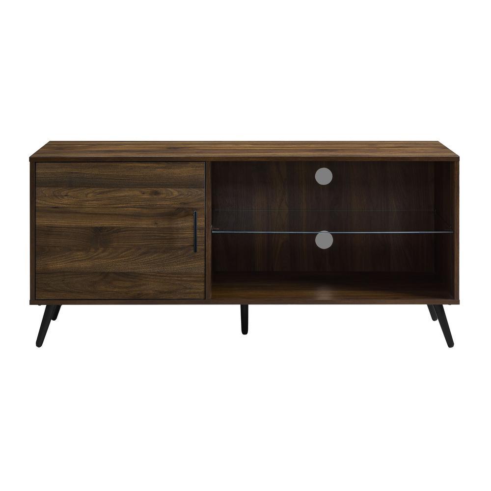 Doors Brown Mid Century Modern Tv Stands Living Room