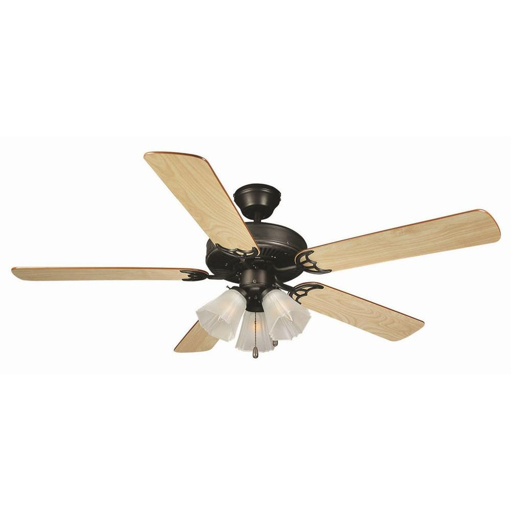 Design House Millbridge 52 In. Oil Rubbed Bronze Ceiling Fan
