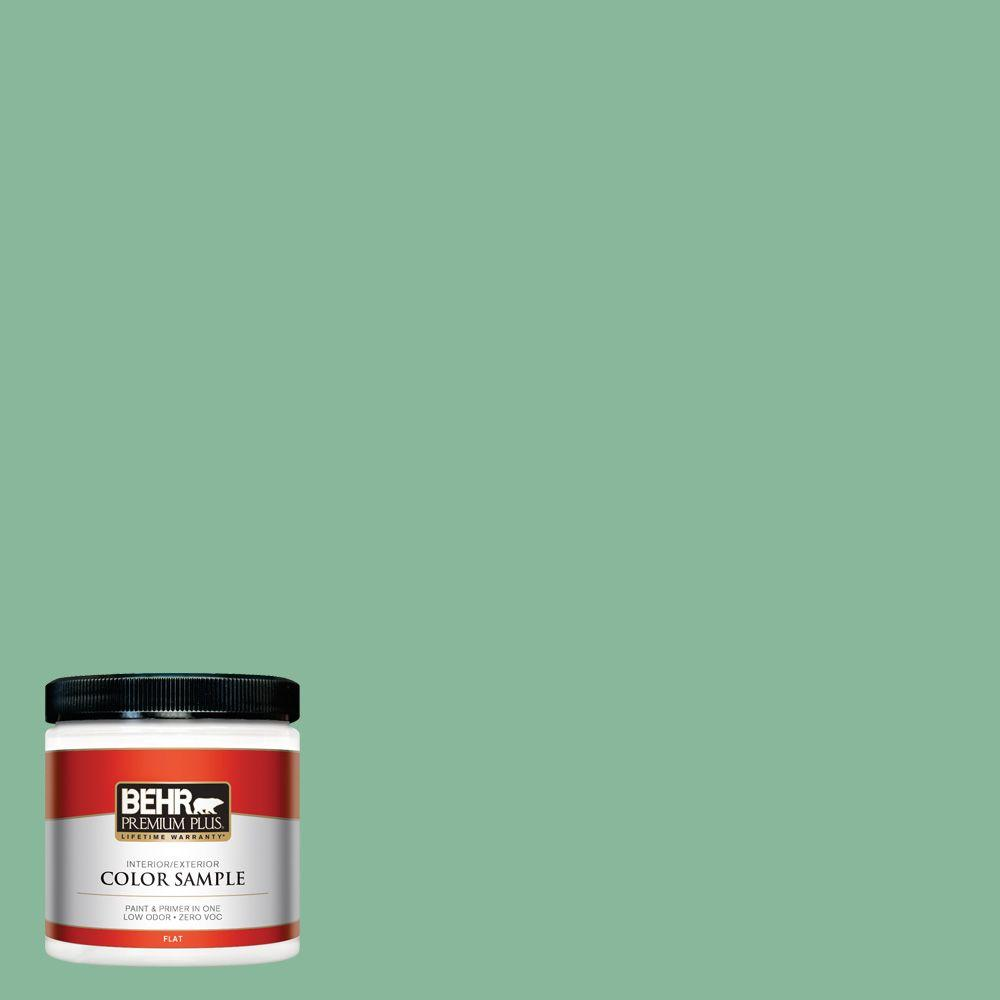 BEHR Premium Plus 8 oz. #470D-4 Garden View Interior/Exterior Paint Sample