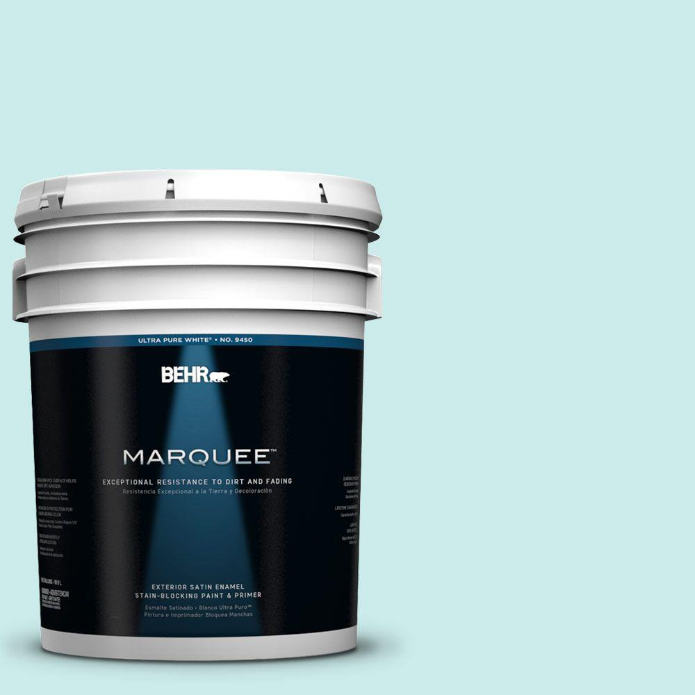 5-gal. #500C-3 Spa Satin Enamel Exterior Paint