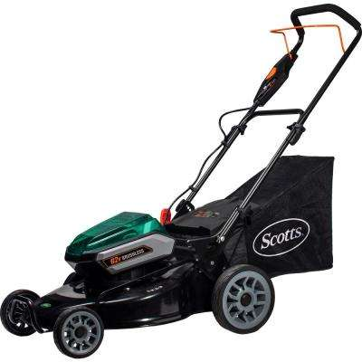 21 in. 62-Volt Lithium-Ion Cordless Battery Walk Behind Push Mower with 5 Ah Battery and Charger Included