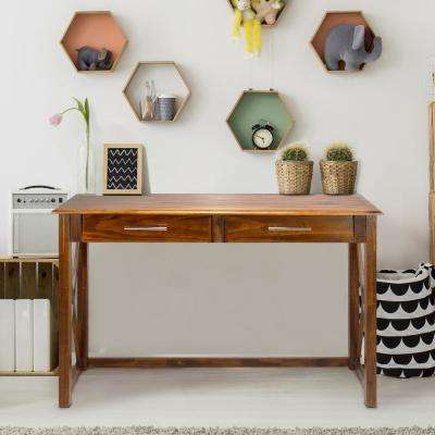 Bay View Warm Brown Console Table