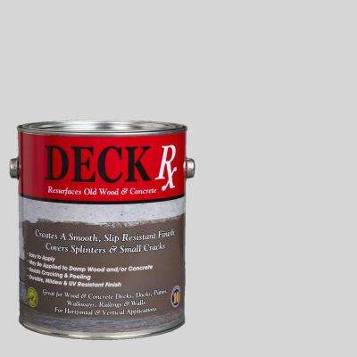 Deck Rx 1 gal. Weathered Gray Wood and Concrete Exterior Resurfacer