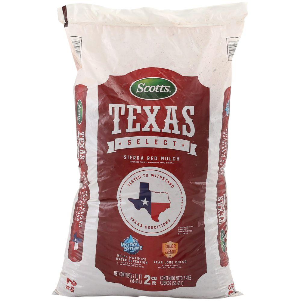 Texas Select 2 cu. ft. Sierra Red Mulch