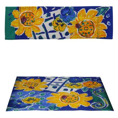 Director Chair Sunflowers and Pansies Replacement Canvas