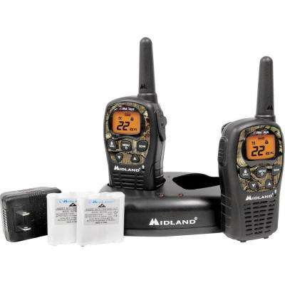 X-TRA Talk GMRS 2-Way 24-Mile 22-Channel Radios (2-Pack)