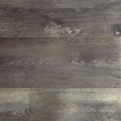 Dowden Gray Oak 12 mm T x 6.34 in. W x 47.72 in. L Water Resistant Laminate Flooring (16.80 sq. ft./case)