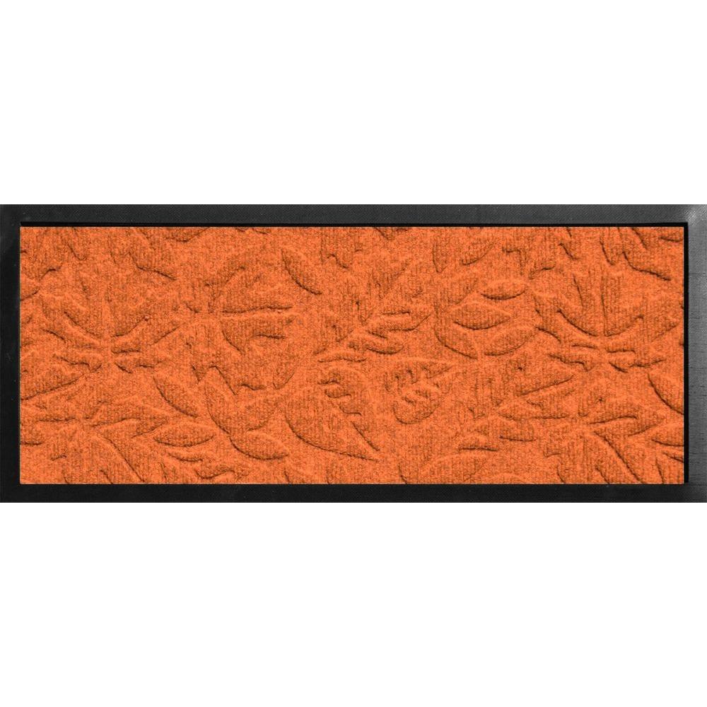 Aqua Shield Boot Tray Fall Day Orange 15 in. x 36 in. Door Mat