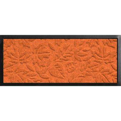 Aqua Shield Boot Tray Fall Day Orange 15 in. x 36 in. Door Mat