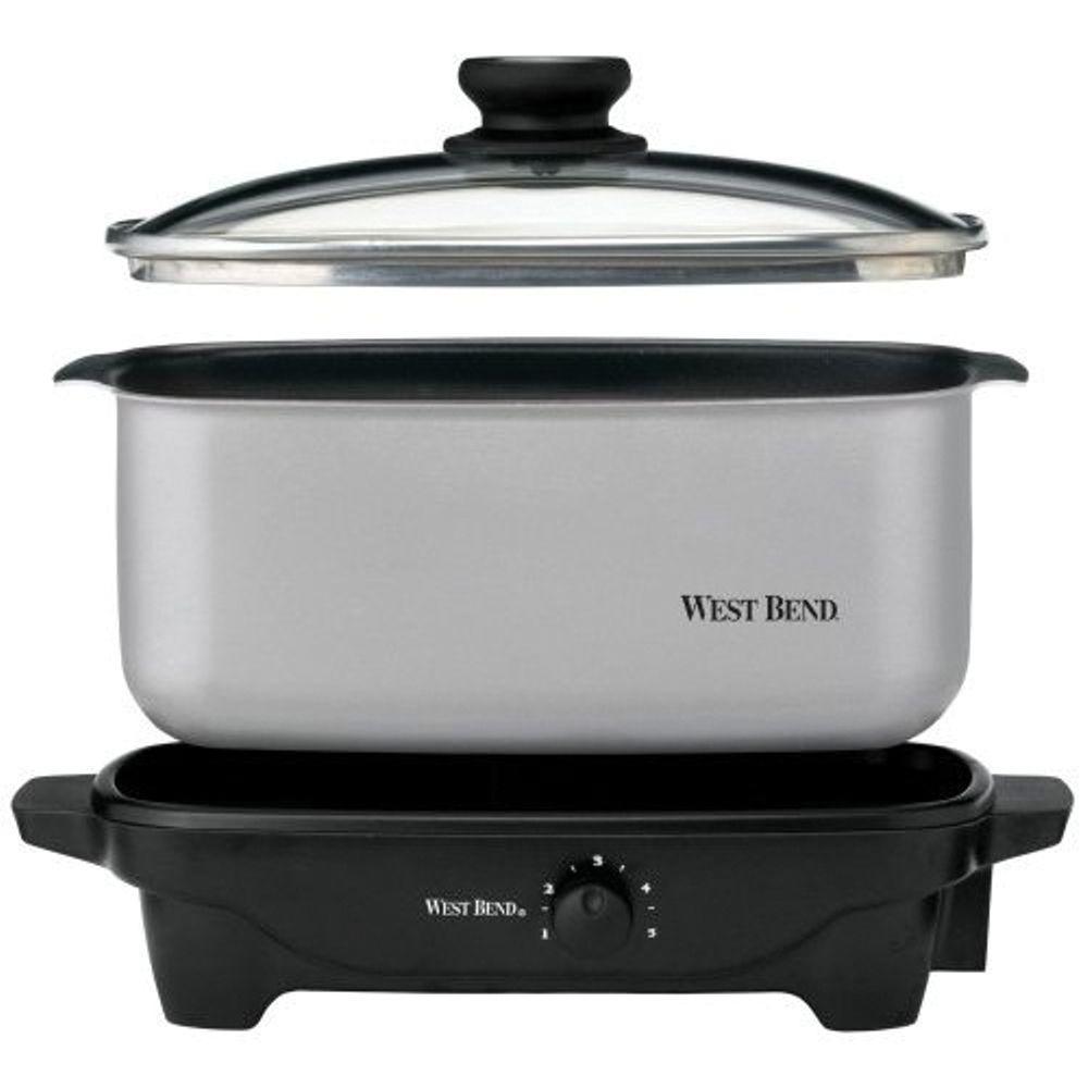 West Bend 5 qt. Oblong Slow Cooker