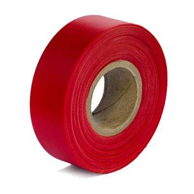 1-3/16 in. x 300 ft. Red Flagging Tape (12-pack)