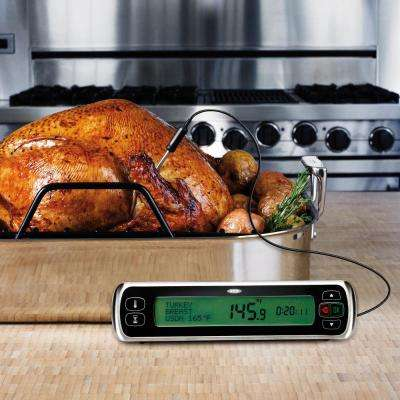 Good Grips Digital Leave-In Meat Thermometer