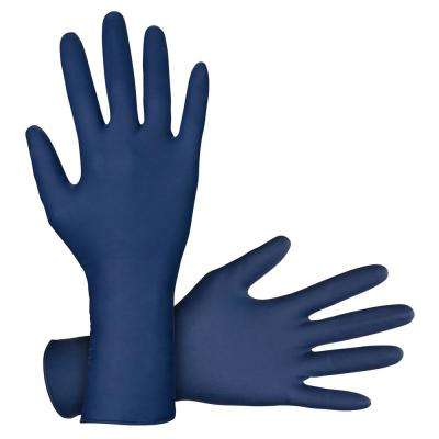 Thickster X-Large Powder-Free 12 in. 14mil Latex Disposable Gloves (50-Count) (Case of 10)