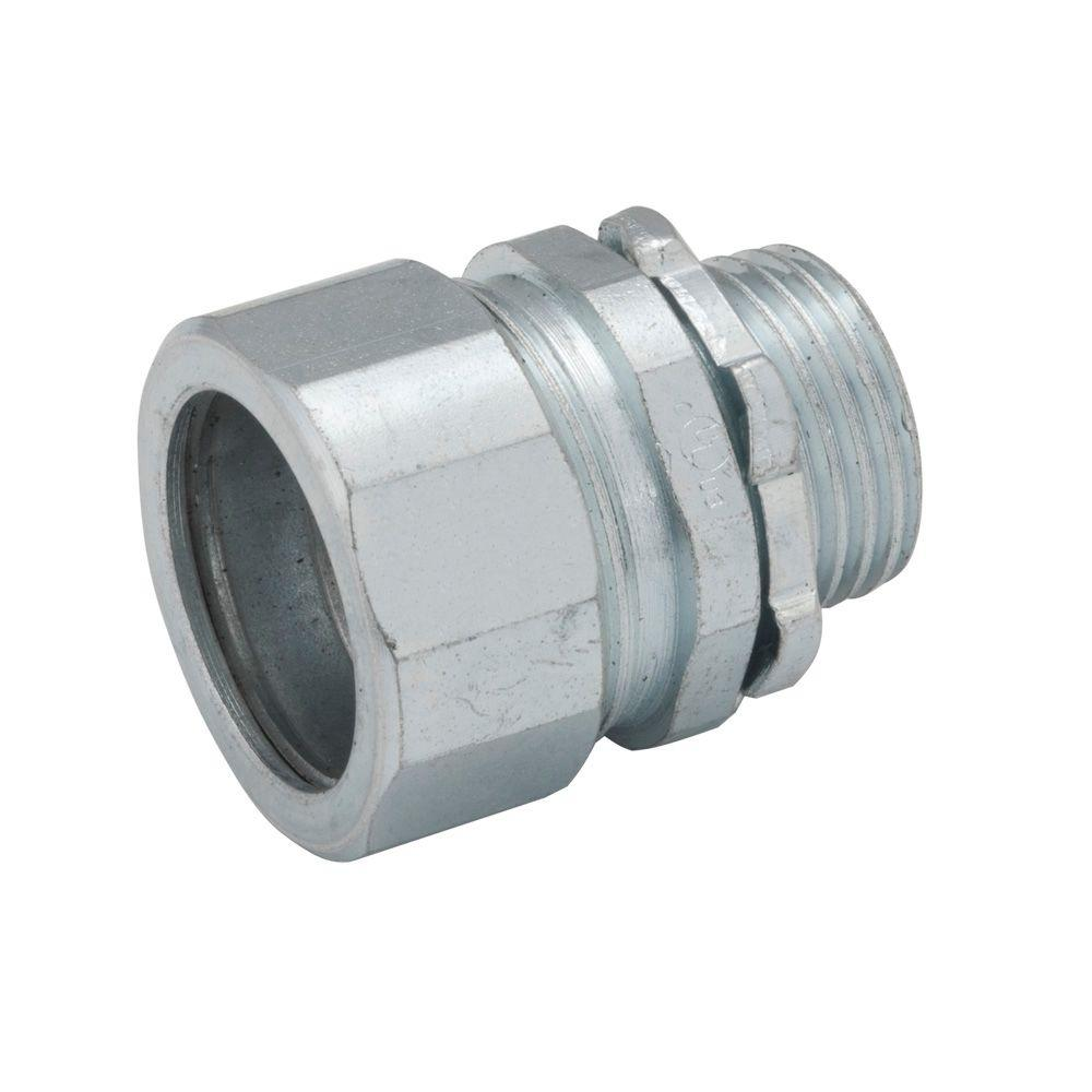 Raco Rigid Imc 1 1 2 In Compression Connector 5 Pack