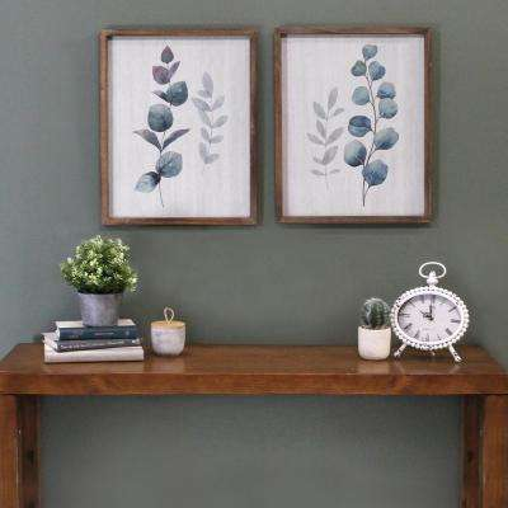 Botanical Art (Set of 2)