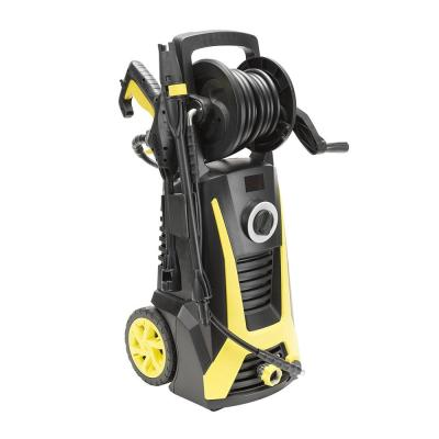 2400 PSI 1.75 GPM 13 Amp Electric Pressure Washer with Hose Reel, Built-in Soap Dispenser, Adjustable Nozzle
