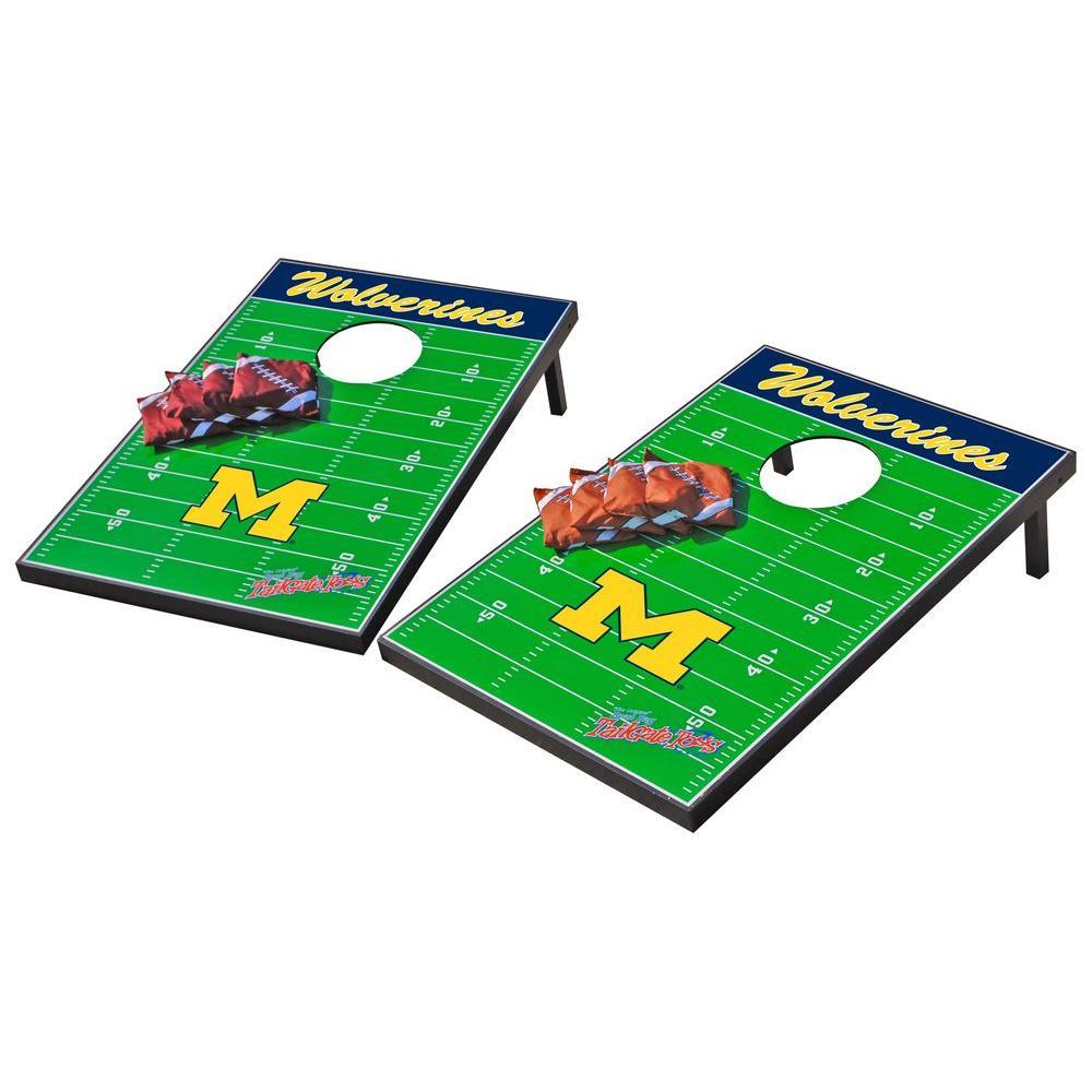 Wild Sports Michigan Wolverines Tailgate Cornhole Toss