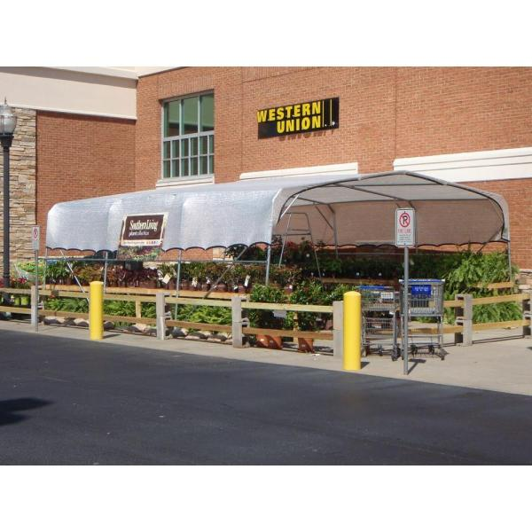 Rsi 12 Ft X 18 Ft White Tropical Weather Shade Cloth With Grommets And 50 Shade Protection W Sc1218 50 The Home Depot