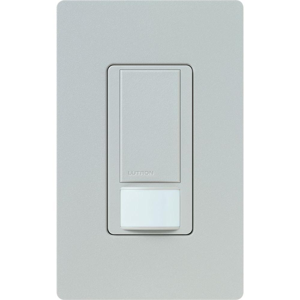 Lutron Maestro Dual Voltage Motion Sensor switch, 6-Amp, Single-Pole, Taupe