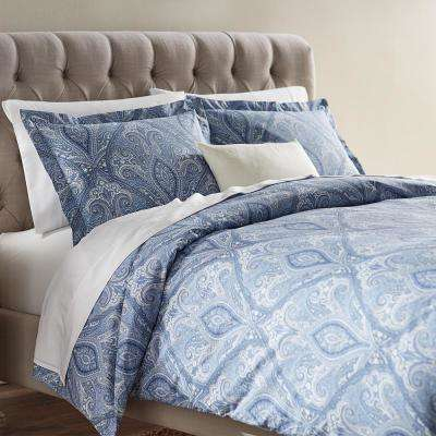 Dandridge Indigio King Duvet