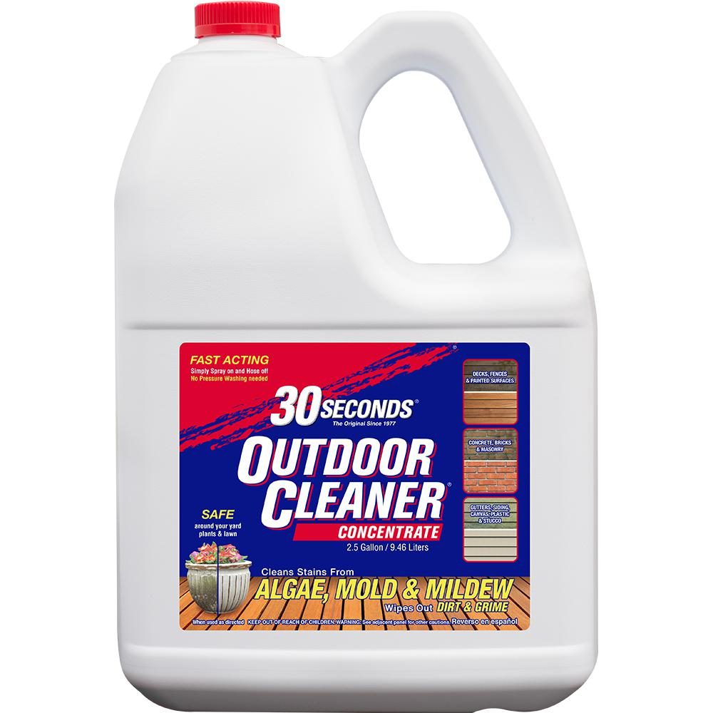 30 Seconds 2 5 Gal Outdoor Cleaner Concentrate