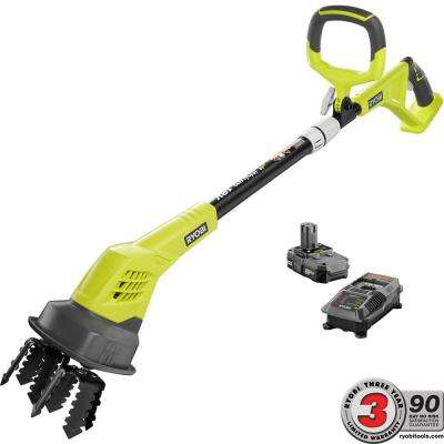 ONE+ 18-Volt Cordless Battery Cultivator - 1.3 Ah Battery and Charger Included