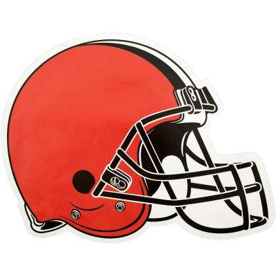 NFL Cleveland Browns Outdoor Helmet Graphic- Large