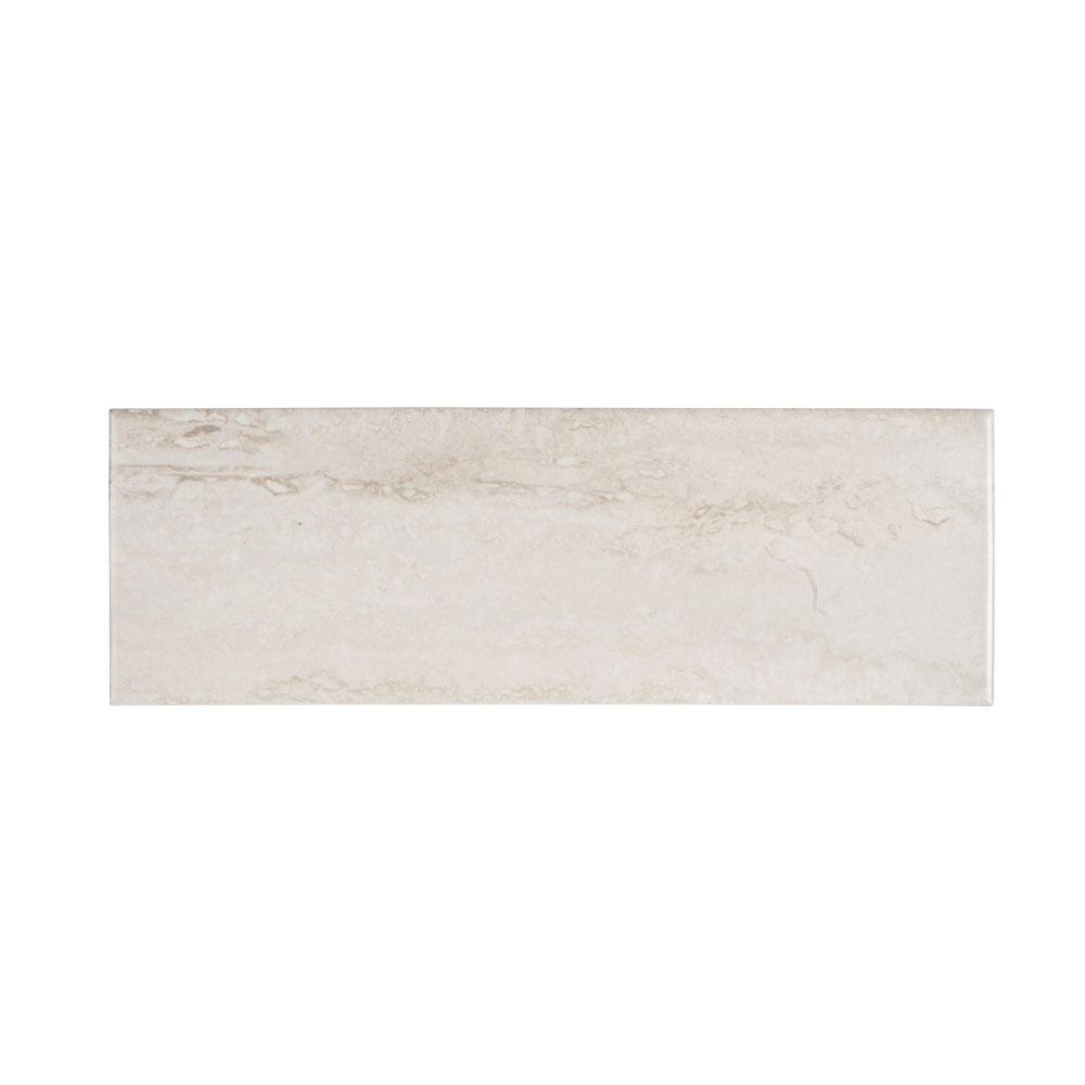 Ceramic Wall Tile: ELIANE Delray Beige 8 In. X 12 In. Ceramic Wall Tile (16
