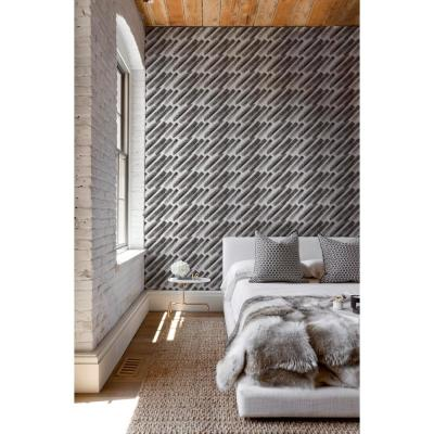 ABRA Collection Willow Marks Removable and Repositionable Wallpaper