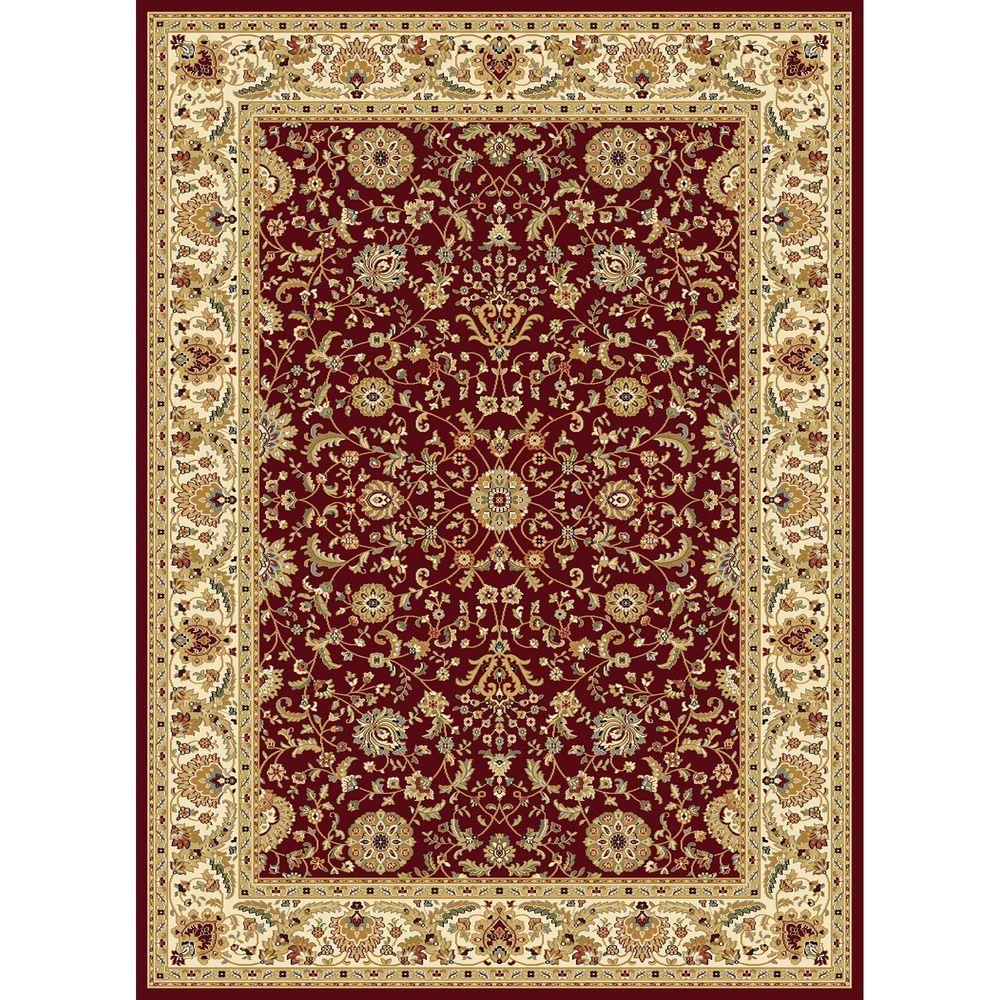 Williams Collection Istanbul Red 6 ft. 7 in. x 9 ft.