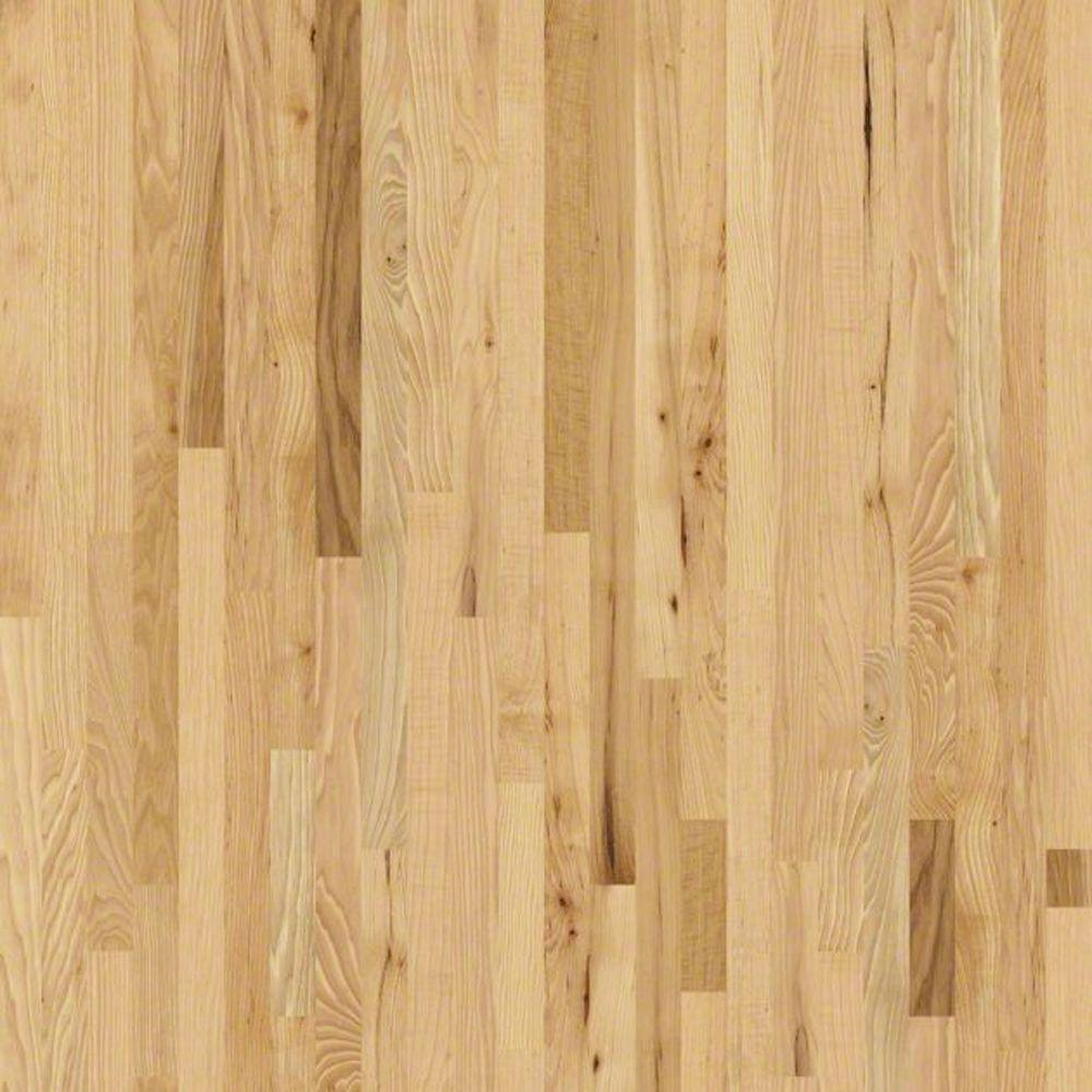 Shaw Hathaway Hickory Natural 3/4 in. Thick x 2-1/4 in. Wide x Random Length Solid Hardwood Flooring (25 sq. ft. / case)
