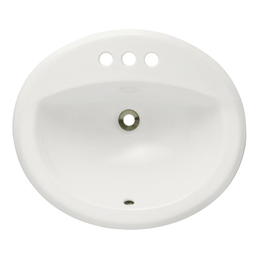 Mr Direct Overmount Porcelain Bathroom