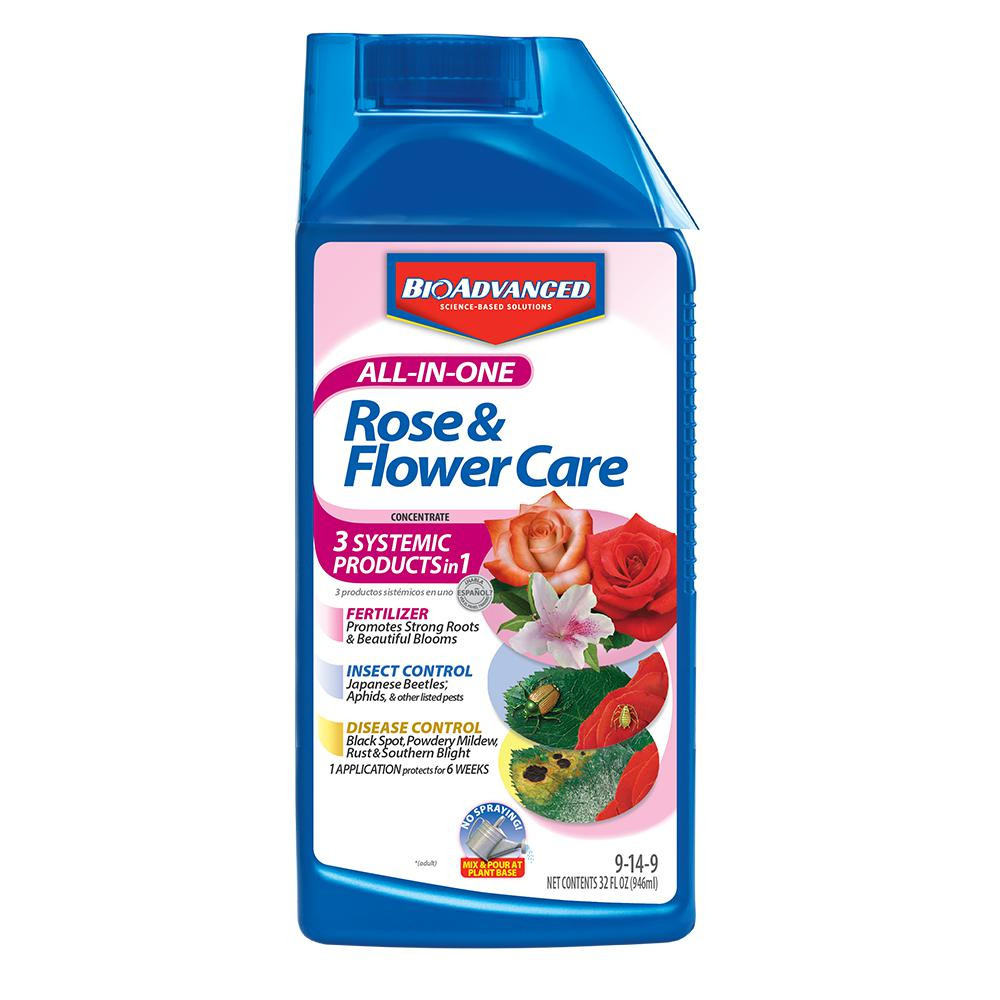 BioAdvanced 32 oz. Concentrate All-in-1 Rose and Flower Care